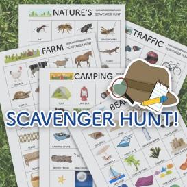scavenger hunt_template